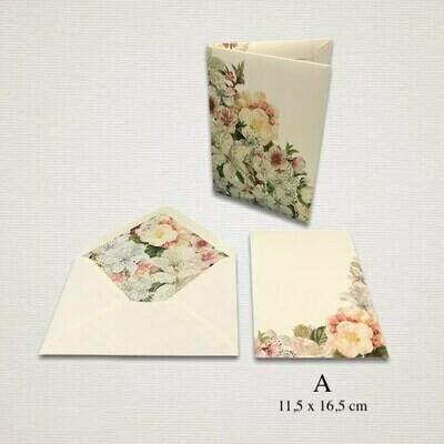 10 cards and 10 envelopes PRIMAVERA