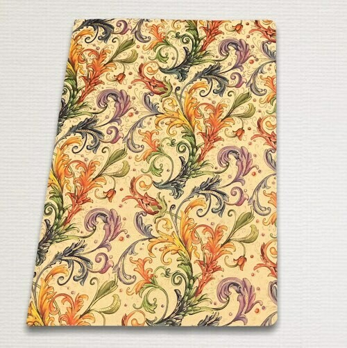 Notebook with gold cut ALLEGRO