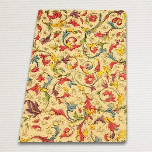 Notebook with gold cut FLORENTIA