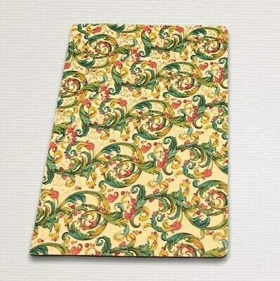 Notebook with gold cut SIGNORIA