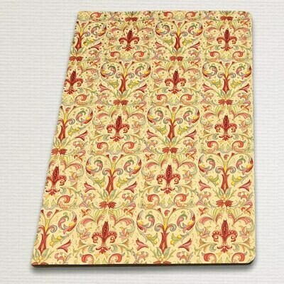 Notebook with gold cut GIGLIO