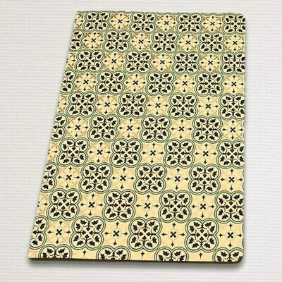 Notebook with gold cut QUADRILOBO