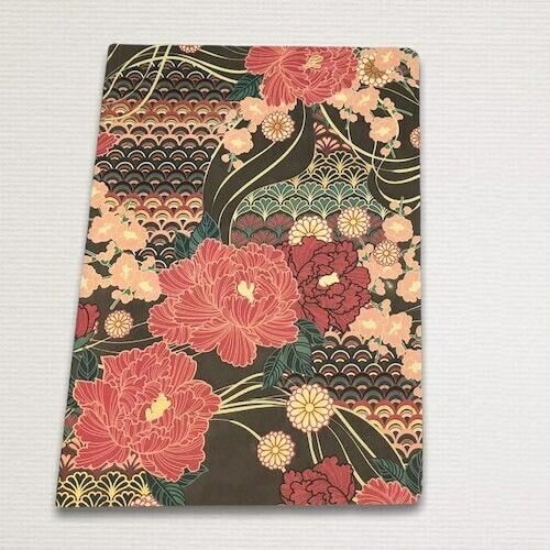 Notebook with gold cut ORIENTALE
