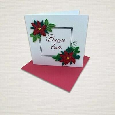 Cartolina di Natale STELLE DI NATALE