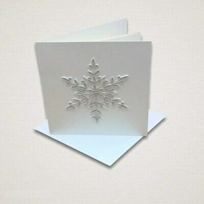 Christmas card FIOCCO DI NEVE