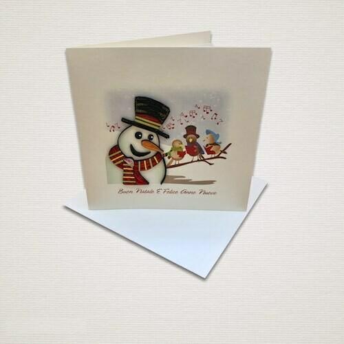 Cartolina di Natale CANTO DI NATALE