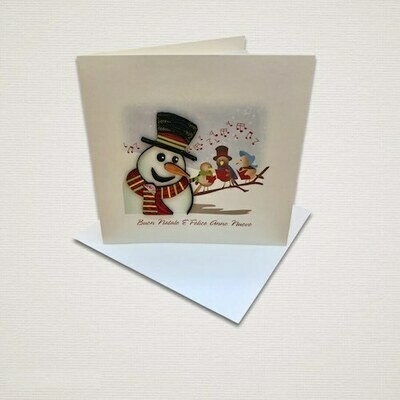Christmas card CANTO DI NATALE