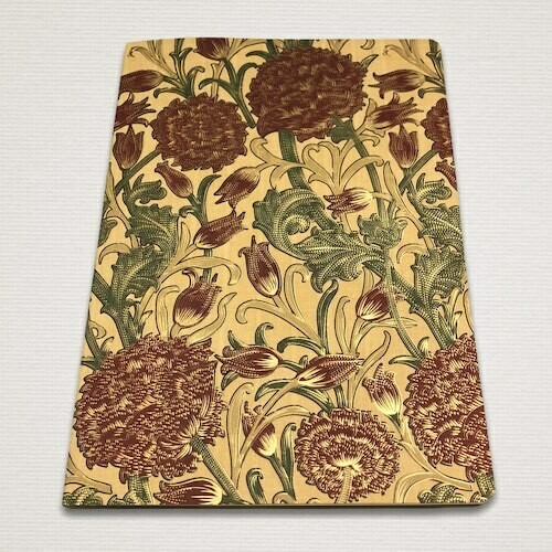 Notebook with gold cut RAMAGE