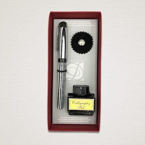 Penna stilografica RIGHE BIANCO & NERO
