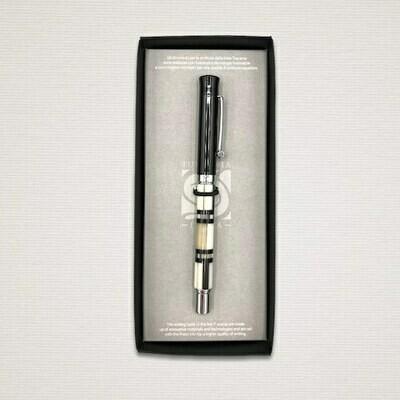Ink Roller pen BLACK & WHITE