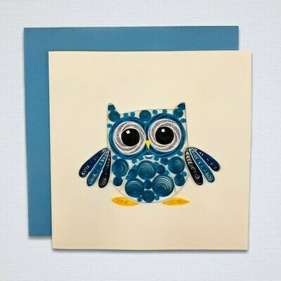 Greeting card 'OWL'