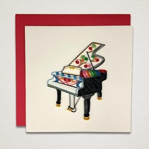 Cartolina 'PIANOFORTE'