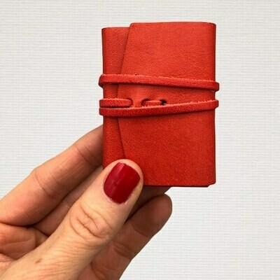 Diary MINI red
