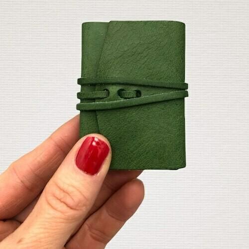 Diary MINI green