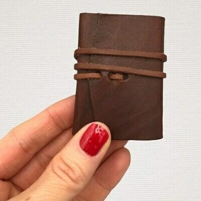 Diary MINI dark brown