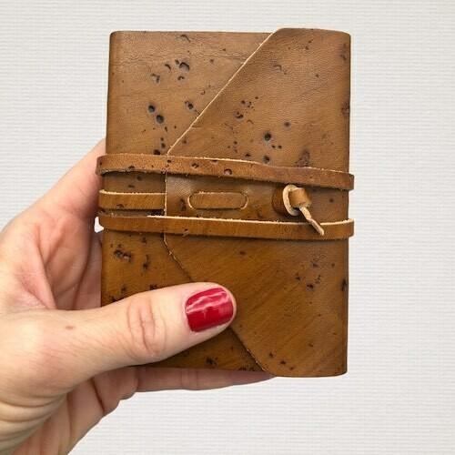 Pocket diary MEDIEVALE light brown