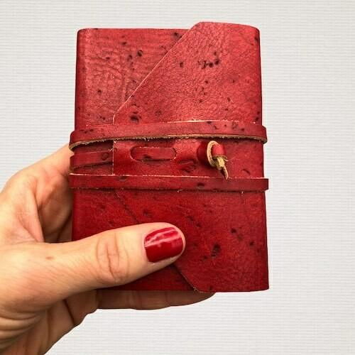 Diario tascabile MEDIEVALE rosso