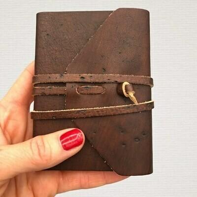 Pocket diary MEDIEVALE dark brown