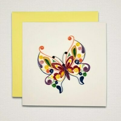 Greeting card 'BUTTERFLY'