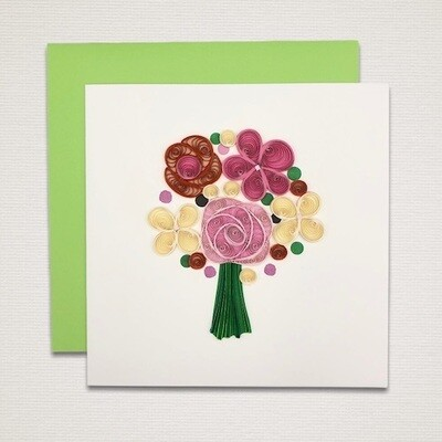 Greeting card 'BOUQUET'