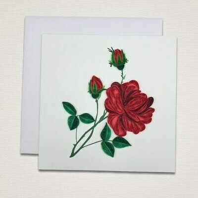 Greeting card 'ROSE'