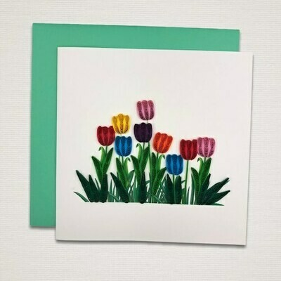 Greeting card 'PRIMAVERA'