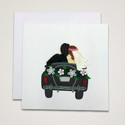 Cartolina 'AUTO SPOSINI'