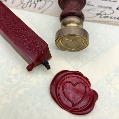 Seal with a heart
