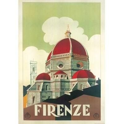 Poster FLORENCE VINTAGE