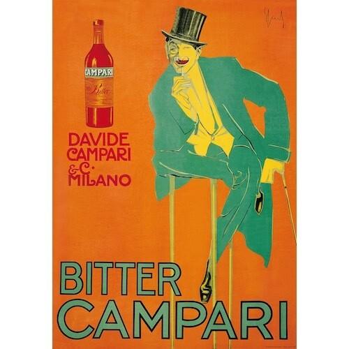 Poster CAMPARI BITTER