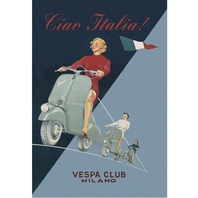Poster VESPA VINTAGE