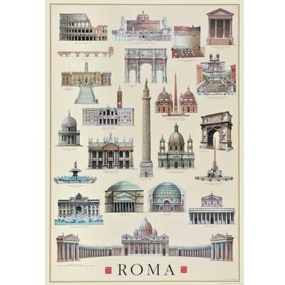Poster ARCHITETTURA ROMA