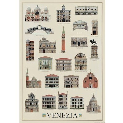 Poster ARCHITECTURE OF VENICE