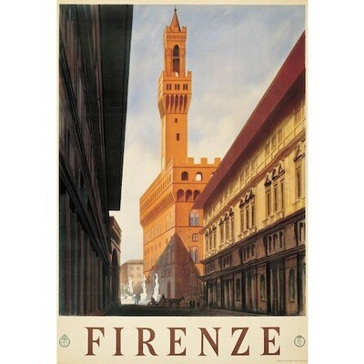 Poster FLORENCE PALAZZO VECCHIO
