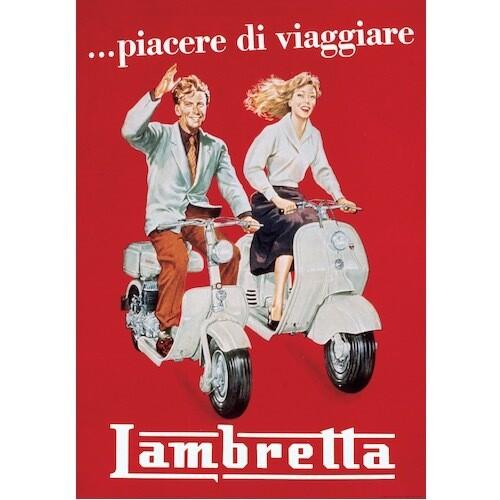 Poster LAMBRETTA VINTAGE