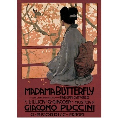 Poster MADAME BUTTERFLY