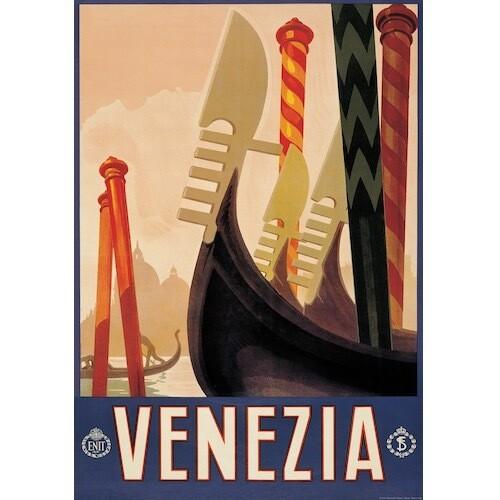 Poster VENEZIA VINTAGE
