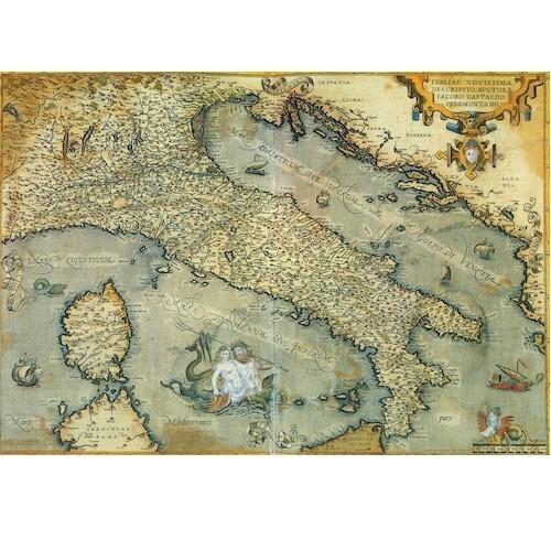 Poster MAPPA ITALIA ANTICA