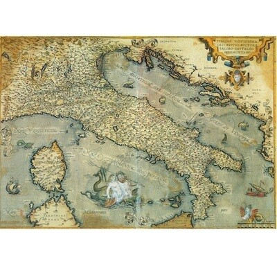 Poster ANTIQUE MAP OF ITALY