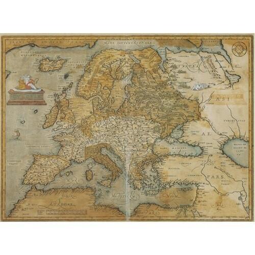 Poster MAPPA EUROPA ANTICA