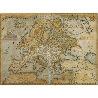Poster ANTIQUE MAP OF EUROPE