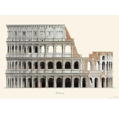 Poster COLOSSEUM ROME
