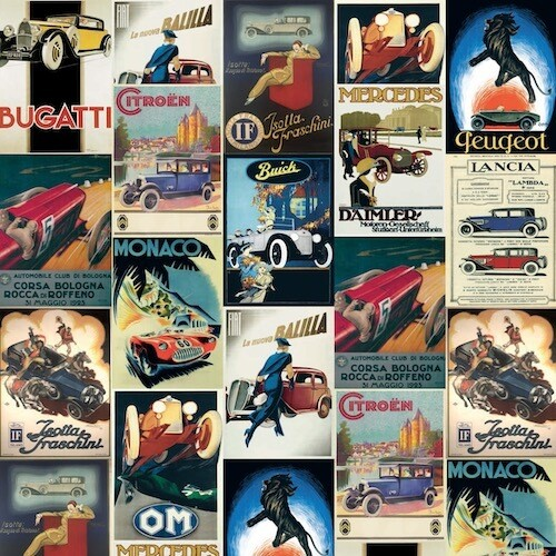 Carta da regalo VINTAGE CARS
