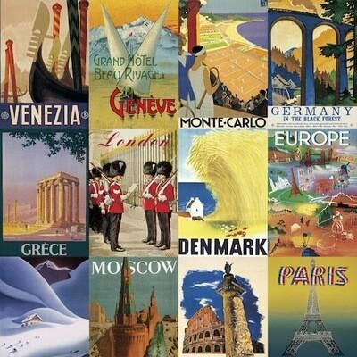 Carta da regalo CITTÀ EUROPEE