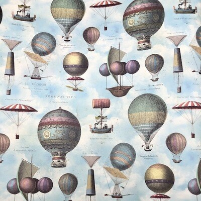 Wrapping paper HOT AIR BALLOONS