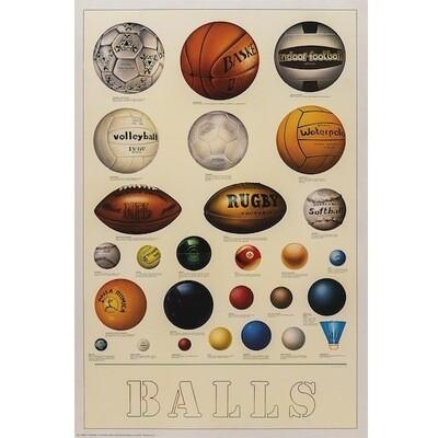 Poster SPORTS BALLS
