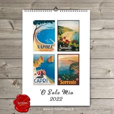 Calendario O SOLE MIO