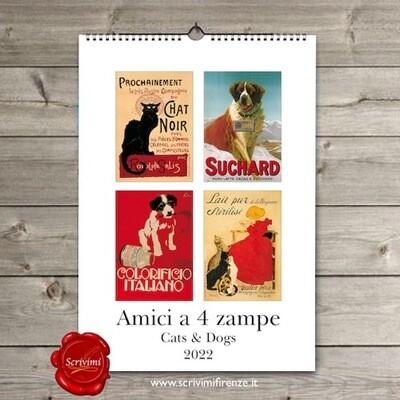 Calendario AMICI A 4 ZAMPE