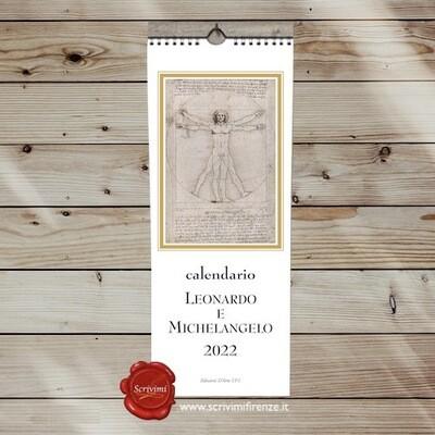 Calendar LEONARDO AND MICHELANGELO