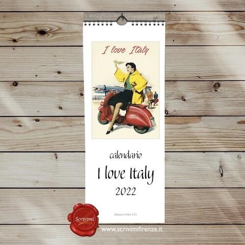 Calendario I LOVE ITALY